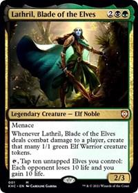 Lathril, Blade of the Elves, Magic: The Gathering, Commander: Kaldheim