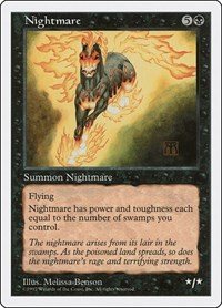 Nightmare, Magic, Fifth Edition