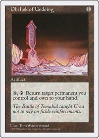 Obelisk of Undoing, Magic: The Gathering, Fifth Edition