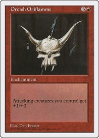Orcish Oriflamme, Magic: The Gathering, Fifth Edition
