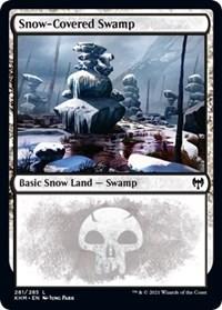 Snow-Covered Swamp (281), Magic: The Gathering, Kaldheim
