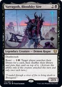 Varragoth, Bloodsky Sire, Magic: The Gathering, Kaldheim