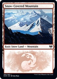 Snow-Covered Mountain (283), Magic: The Gathering, Kaldheim