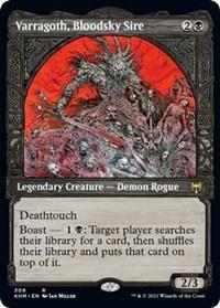 Varragoth, Bloodsky Sire (Showcase), Magic: The Gathering, Kaldheim