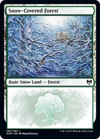 Snow-Covered Forest (285), Magic: The Gathering, Kaldheim