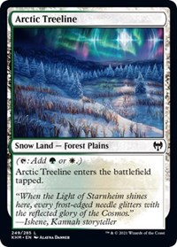 Arctic Treeline, Magic: The Gathering, Kaldheim