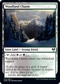 Woodland Chasm, Magic: The Gathering, Kaldheim