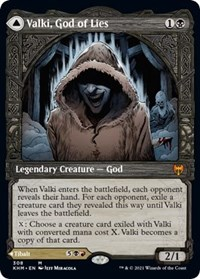 Valki, God of Lies (Showcase), Magic: The Gathering, Kaldheim