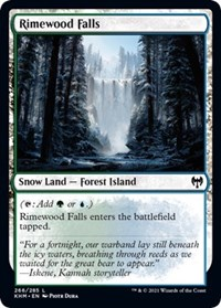 Rimewood Falls, Magic: The Gathering, Kaldheim
