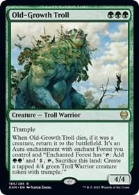 Old-Growth Troll, Magic: The Gathering, Kaldheim