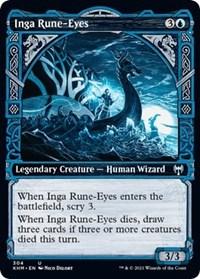 Inga Rune-Eyes (Showcase), Magic: The Gathering, Kaldheim