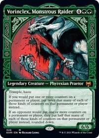 Vorinclex, Monstrous Raider (Showcase), Magic: The Gathering, Kaldheim