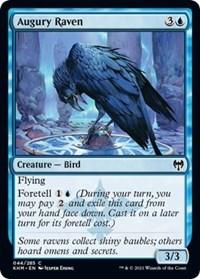 Augury Raven, Magic: The Gathering, Kaldheim
