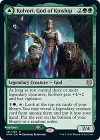 Kolvori, God of Kinship, Magic: The Gathering, Kaldheim