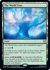 The World Tree, Magic: The Gathering, Kaldheim