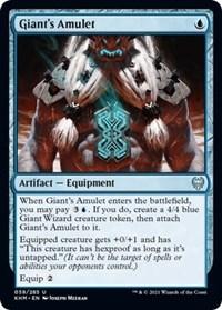 Giant's Amulet, Magic: The Gathering, Kaldheim
