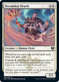 Doomskar Oracle, Magic: The Gathering, Kaldheim