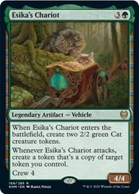 Esika's Chariot, Magic: The Gathering, Kaldheim