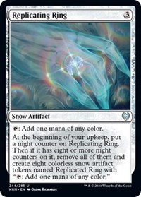 Replicating Ring, Magic: The Gathering, Kaldheim