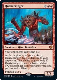 Quakebringer, Magic: The Gathering, Kaldheim