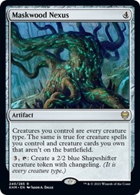 Maskwood Nexus, Magic: The Gathering, Kaldheim