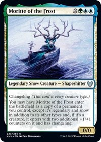 Moritte of the Frost, Magic: The Gathering, Kaldheim