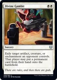 Divine Gambit, Magic: The Gathering, Kaldheim
