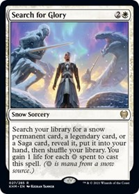 Search for Glory, Magic: The Gathering, Kaldheim