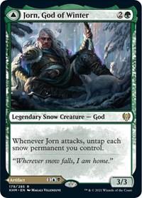 Jorn, God of Winter, Magic: The Gathering, Kaldheim