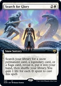 Search for Glory (Extended Art), Magic: The Gathering, Kaldheim