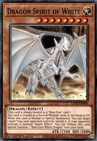 Dragon Spirit of White, YuGiOh, Legendary Duelists: Season 2