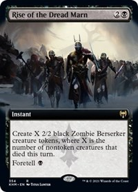Rise of the Dread Marn (Extended Art), Magic: The Gathering, Kaldheim