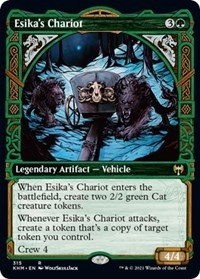Esika's Chariot (Showcase), Magic: The Gathering, Kaldheim