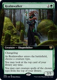 Realmwalker (Extended Art), Magic: The Gathering, Kaldheim