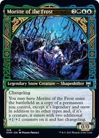 Moritte of the Frost (Showcase), Magic: The Gathering, Kaldheim