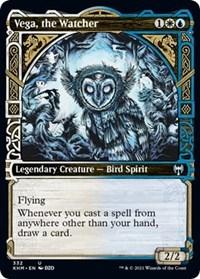Vega, the Watcher (Showcase), Magic: The Gathering, Kaldheim