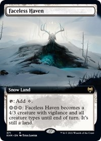 Faceless Haven (Extended Art), Magic: The Gathering, Kaldheim