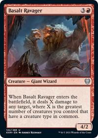 Basalt Ravager, Magic: The Gathering, Kaldheim