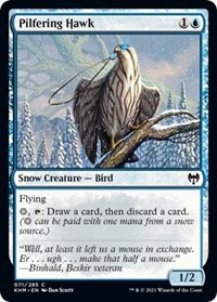 Pilfering Hawk, Magic: The Gathering, Kaldheim