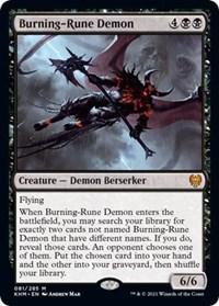 Burning Rune-Demon