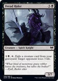 Dread Rider, Magic: The Gathering, Kaldheim
