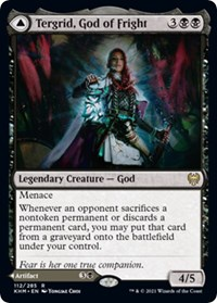 Tergrid, God of Fright, Magic: The Gathering, Kaldheim