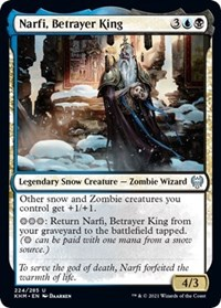 Narfi, Betrayer King, Magic: The Gathering, Kaldheim