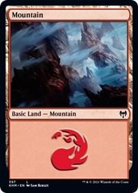 Mountain, Magic: The Gathering, Kaldheim