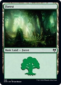 Forest, Magic: The Gathering, Kaldheim