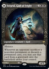 Tergrid, God of Fright (Showcase), Magic: The Gathering, Kaldheim