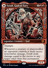 Toralf, God of Fury (Showcase), Magic: The Gathering, Kaldheim