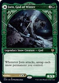 Jorn, God of Winter (Showcase), Magic: The Gathering, Kaldheim