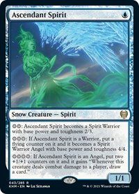 Ascendant Spirit, Magic: The Gathering, Kaldheim