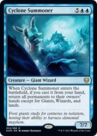 Cyclone Summoner, Magic: The Gathering, Kaldheim